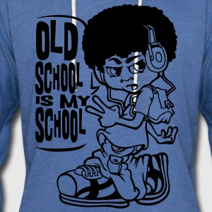 Old school flex T-Shirts - Unisex Lightweight Terry Hoodie