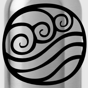 Water Tribe Symbol - VECTOR T-Shirts - Water Bottle