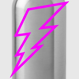 Pink Lightning Bolt Hoodies - Water Bottle