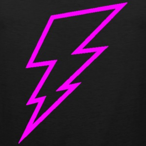 Pink Lightning Bolt Hoodies - Men's Premium Tank