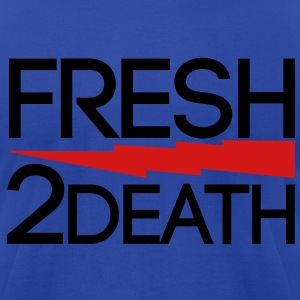 FRESH 2 DEATH  Hoodies - Men's T-Shirt by American Apparel