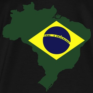 Brazil Map Bags  - Men's Premium T-Shirt