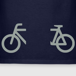 split_bicycle_1 Zip Hoodies/Jackets - Men's T-Shirt