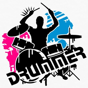 A drummer and his drums Gift - Men's Premium Long Sleeve T-Shirt