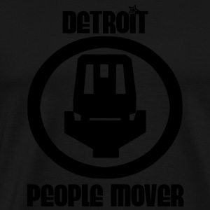 Detroit People Mover Hoodies - Men's Premium T-Shirt