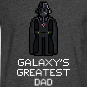 Galaxy's Greatest Dad 1 - Men's Long Sleeve T-Shirt