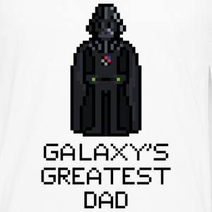 Galaxy's Greatest Dad 2 - Men's Premium Long Sleeve T-Shirt