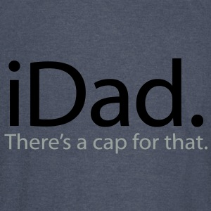 iDad - There's a Cap For That - iSpoof - Vintage Sport T-Shirt