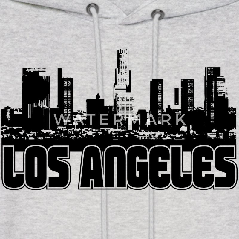 Los Angeles Skyline Hooded Sweatshirt - Men's Hoodie