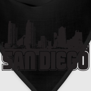 San Diego Skyline Hooded Sweatshirt - Bandana