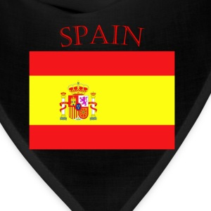 Spanish Flag spain yellow t shirt - Bandana