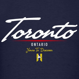 Toronto Script Hooded Sweatshirt - Men's T-Shirt