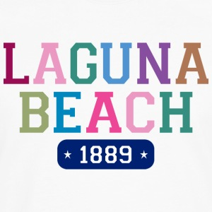 Laguna Beach 1889 V-Neck T-Shirt - Men's Premium Long Sleeve T-Shirt