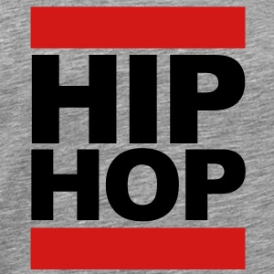 Hip Hop Block Sweatshirts - Men's Premium T-Shirt