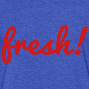 Fresh Sweatshirts - Fitted Cotton/Poly T-Shirt by Next Level