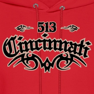 Cincinnati 513 American Apparel T-Shirt - Men's Hoodie
