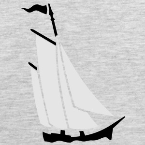 sailboat (2c) Long Sleeve Shirts - Men's Premium Tank