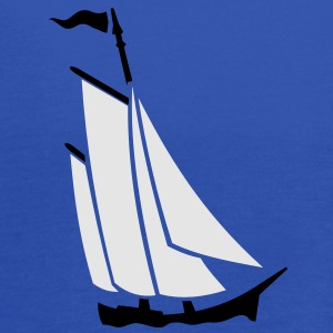 sailboat (2c) T-Shirts - Women's Flowy Tank Top by Bella