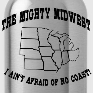 Mighty Midwest T-Shirts - Water Bottle