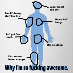 Why I'm so Fucking Awesome Long Sleeve Shirts - Coffee/Tea Mug