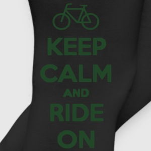 Keep Calm and Ride On Men's T-shirt - Leggings