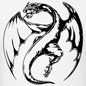 Dragon VECTOR Hoodies - Men's T-Shirt