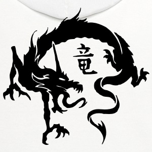 Dragon VECTOR T-Shirts - Contrast Hoodie