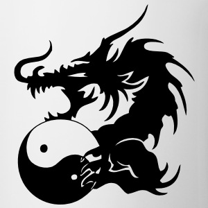 Dragon VECTOR T-Shirts - Coffee/Tea Mug