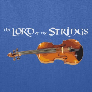 the Lord of the Strings - digital T-Shirts - Tote Bag