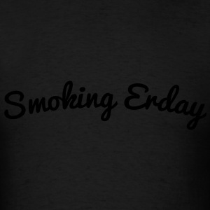 smoking_erday_ii Long Sleeve Shirts - Men's T-Shirt
