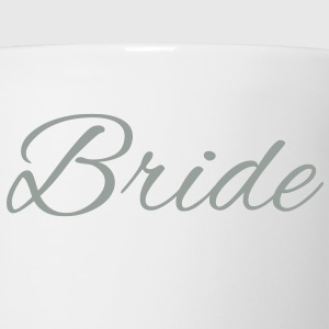 Bride Text Graphic Vector | Perfect gift for tshirts or hoodies for the Bride to Be! - Coffee/Tea Mug