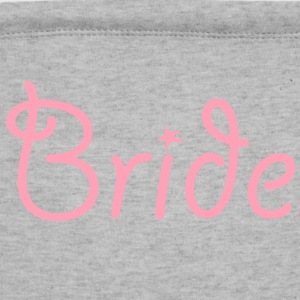 Bride Text Graphic Vector | Perfect gift for tshirts or hoodies for the Bride to Be! - Sweatshirt Cinch Bag
