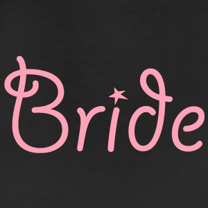 Bride Text Graphic Vector | Perfect gift for tshirts or hoodies for the Bride to Be! - Leggings