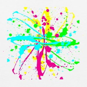 Paint Splatter Colorful Graffiti Graphic Design Picture - Cool tshirt and Hoodie Sweater! - Men's Premium Tank
