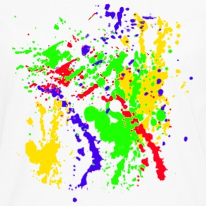 Paint Splatter Colorful Graffiti Graphic Design Picture - Cool tshirt and Hoodie Sweater! - Men's Premium Long Sleeve T-Shirt