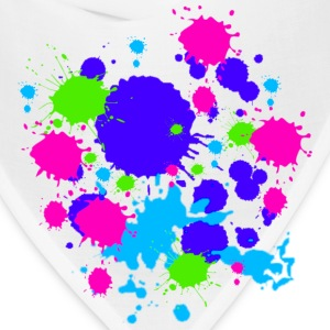 Paint Splatter Colorful Graffiti Graphic Design Picture - Cool tshirt and Hoodie Sweater! - Bandana