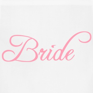 Bride Text Graphic Vector | Perfect gift for tshirts or hoodies for the Bride to Be! - Adjustable Apron