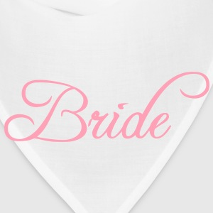 Bride Text Graphic Vector | Perfect gift for tshirts or hoodies for the Bride to Be! - Bandana