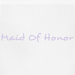 Maid of Honor Text Graphic Design Perfect gift for tshirts or hoodies for the Bridal Party! - Adjustable Apron