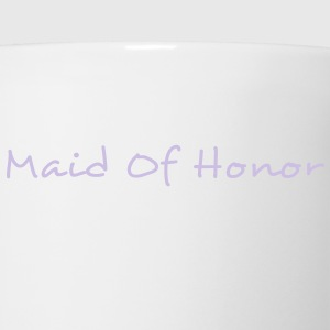 Maid of Honor Text Graphic Design Perfect gift for tshirts or hoodies for the Bridal Party! - Coffee/Tea Mug
