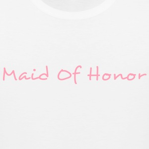Maid of Honor Text Graphic Design Perfect gift for tshirts or hoodies for the Bridal Party! - Men's Premium Tank