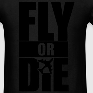Fly Or Die Long Sleeve Shirts - stayflyclothing.com - Men's T-Shirt