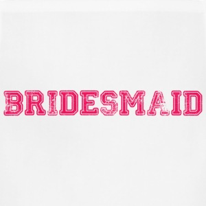 Bridesmaid Text Graphic Design Picture | Perfect for Bridal Parties! - Adjustable Apron