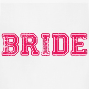 Bride Text Graphic Design Perfect gift for tshirts or hoodies for the Bride to Be! - Adjustable Apron