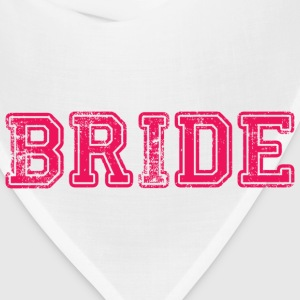 Bride Text Graphic Design Perfect gift for tshirts or hoodies for the Bride to Be! - Bandana