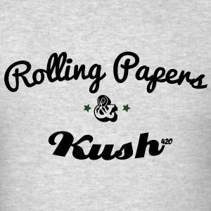 ROLLING PAPERS AND KUSH Long Sleeve Shirts - Men's T-Shirt