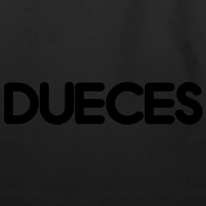 DUECES Long Sleeve Shirts - Eco-Friendly Cotton Tote