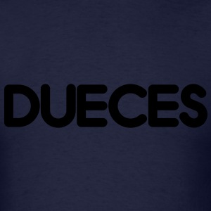 DUECES Long Sleeve Shirts - Men's T-Shirt