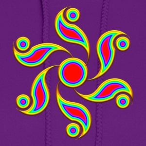 Crop Circle - ABSOLUTION , rainbow, Alton Barnes 2004, Symbol of Forgiveness Women's T-Shirts - Women's Hoodie