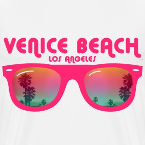 Venice beach los angeles Buttons - Men's Premium T-Shirt
